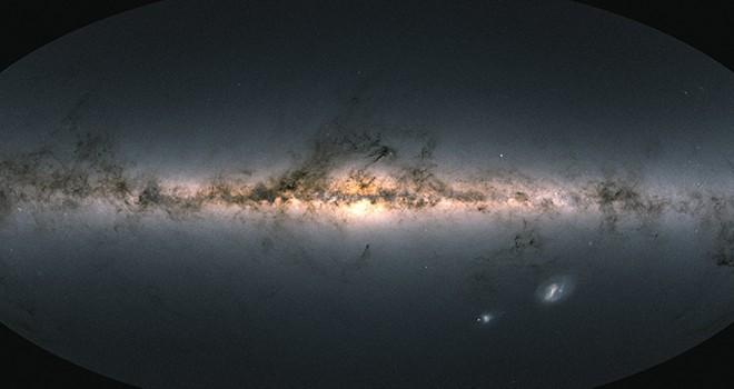 Gökbilimcilerden Samanyolu'nun şimdiye kadarki en ayrıntılı 3D haritası