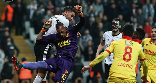 Beşiktaş'ta savunma oyuncularından skora büyük katkı