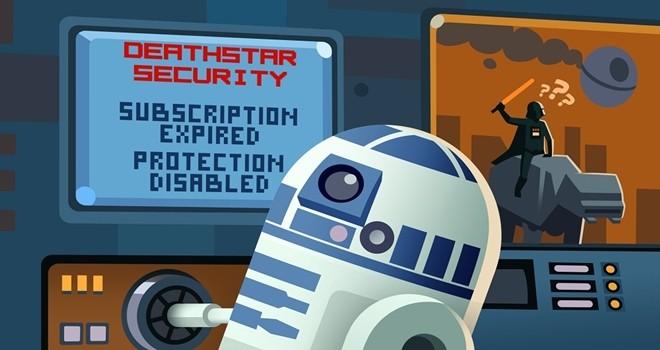 Star Wars ile siber suçlar da yükselişte
