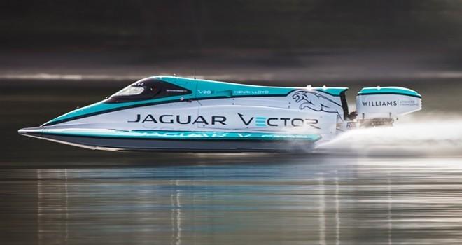 Jaguar elektrikli bot ile dünya rekoru kırdı