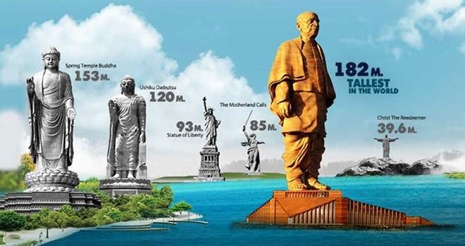 Dünyanın en büyük heykeli ile rekor kıracak