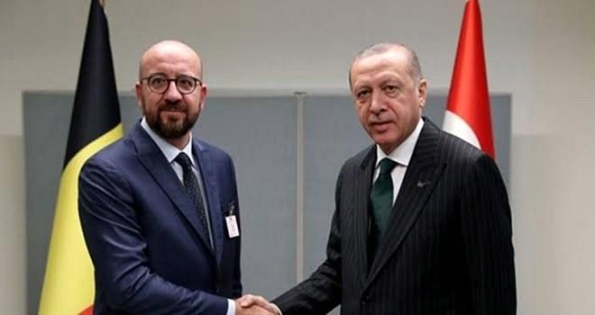 Erdoğan ile Michel arasında soğuk rüzgarlar