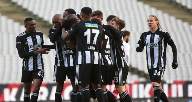 Beşiktaş:4 - Fatih Karagümrük:1