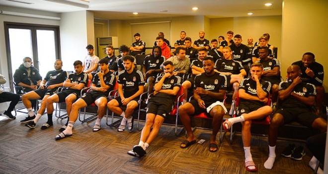 Beşiktaş futbol takımına seminer verildi