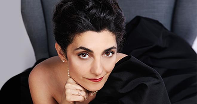 İranlı opera sanatçısı Darya Dadvar, konser için İstanbul'da