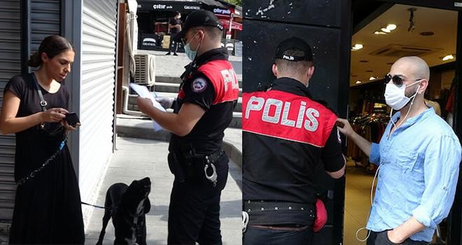Beşiktaş'ta Korona denetimi! Ceza yağdı