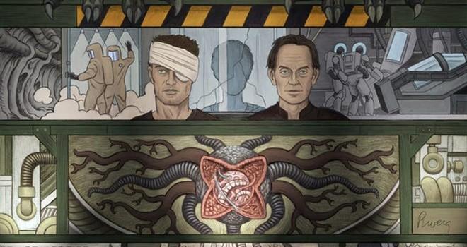 William Gibson'ın Alien 3 senaryosu çizgi roman oluyor