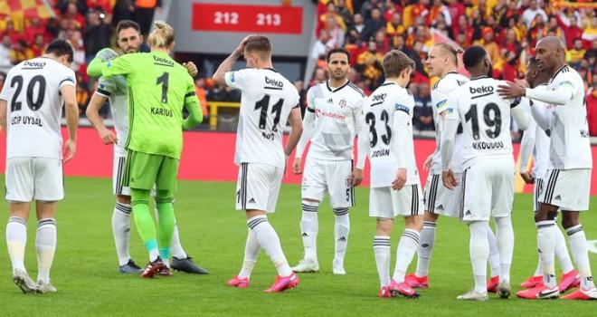 Göztepe - Beşiktaş maç sonucu: 2-1