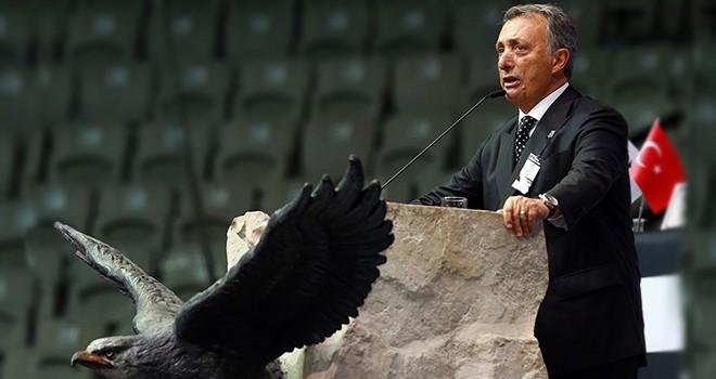 Beşiktaş'ta Ahmet Nur Çebi dönemi başladı