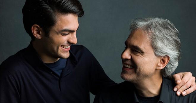 Andrea Bocelli ve Matteo Bocelli'nin şarkıları Radyo Beşiktaş'ta!
