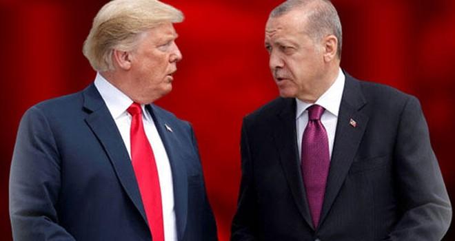 Cumhurbaşkanı Erdoğan ile Trump İdlib'i görüştü