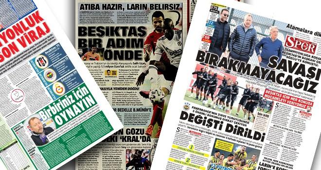 Beşiktaş manşetleri: Birbiriniz için oynayın