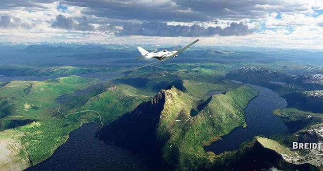Microsoft Flight Simulator'ın en son güncellemesinde güzel İskandinav manzarası