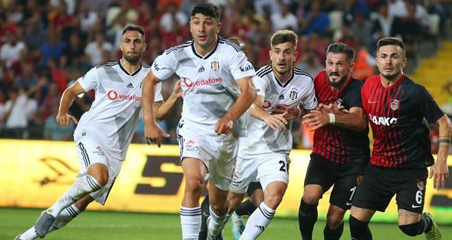 Gazişehir Gaziantep FK - Beşiktaş: 3-2