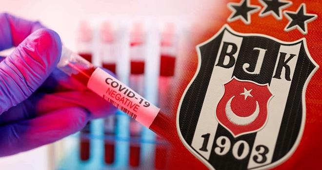 Beşiktaş'ın Koronavirüs test sonuçları açıklandı