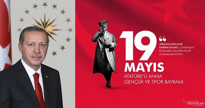 Cumhurbaşkanı Erdoğan: Gazi Mustafa Kemal ve Kurtuluş Savaşımızın bütün kahramanlarını saygıyla anıyorum