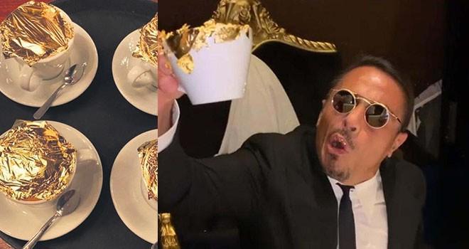 Etiler Nispetiye'de yer bakıyor! Nusret, kahvehane açacak, altın kaplamalı kahveyi kaça satacak?