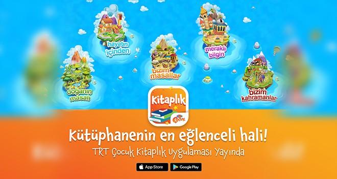 TRT'den çocuklara 23 Nisan hediyesi… TRT Çocuk Kitaplık