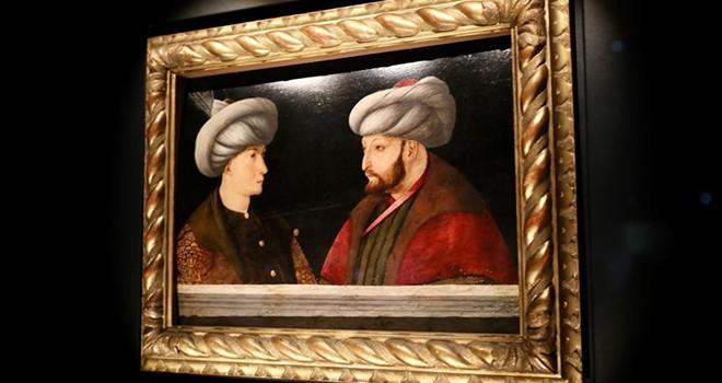 540 yıllık Fatih Sultan Mehmed tablosu ziyaretçileriyle buluşuyor