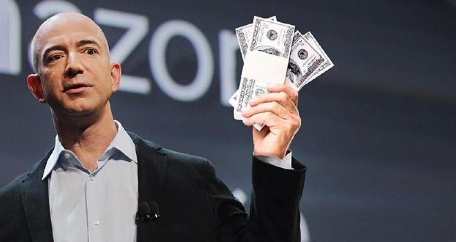 Amazon'un patronunun serveti rekor kırdı tam 172 milyar dolar