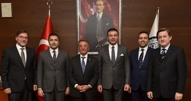 Başkan Çebi'den Başkan Akpolat'a iade-i ziyaret