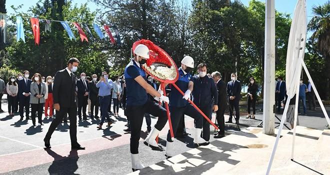 Beşiktaş'ta 19 Mayıs coşkuyla kutlandı
