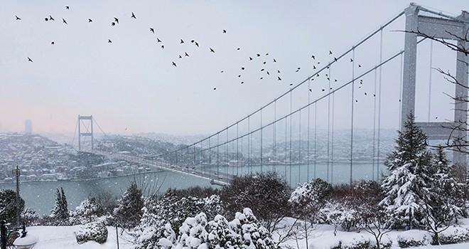 İstanbul'da kar yağışı için geri sayım