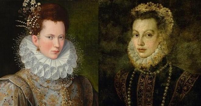 İki kadın Rönesans sanatçısı için sergi