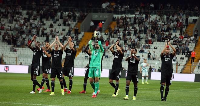 Şampiyon Beşiktaş sezonu galibiyetle açtı