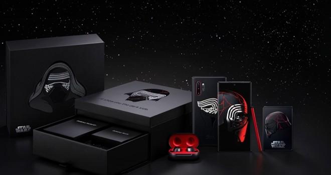 Samsung Galaxy Note10+'dan Star Wars özel koleksiyon paketi