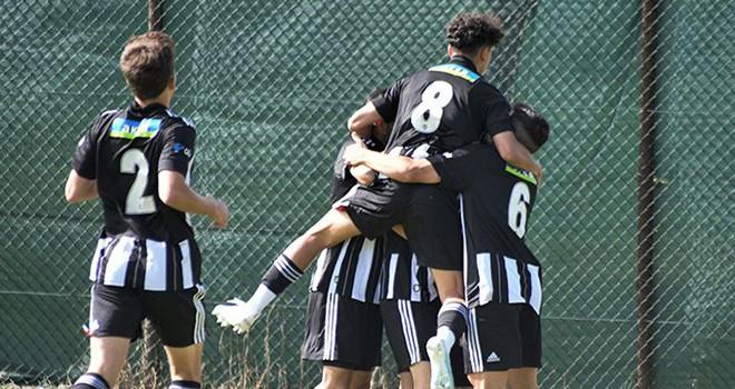 Beşiktaş U-19 Akademi Takımı'nda galibiyet sevinci