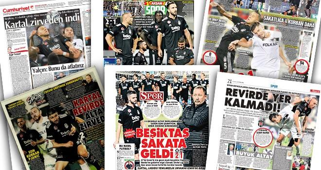 Gazeteler Beşiktaş'taki son durumları manşetlerine taşıdı!.. (25 Eylül)