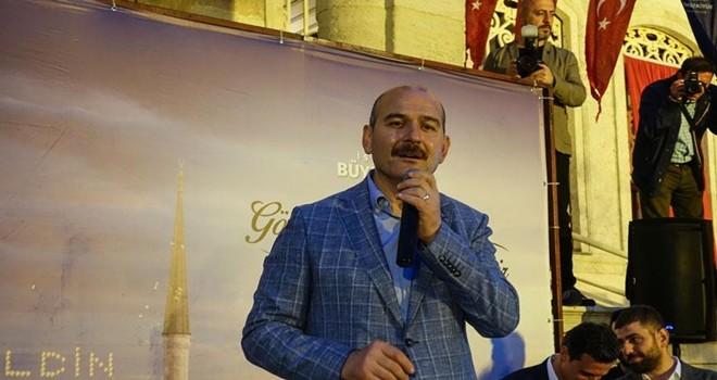 İçişleri Bakanı Beşiktaş'ta