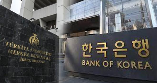 TCMB ile Güney Kore arasında kur swapı anlaşmasına varıldı
