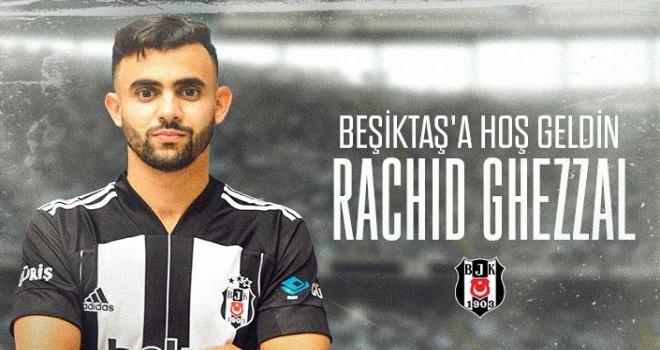 Beşiktaş'a yeni transfer Rachid Ghezzal