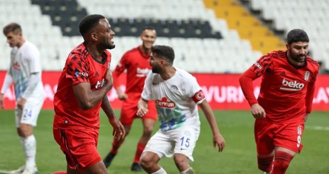 Beşiktaş kupada çeyrek finalde