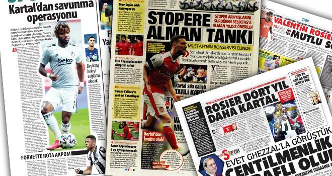 Günün Beşiktaş manşetleri (20 Temmuz)