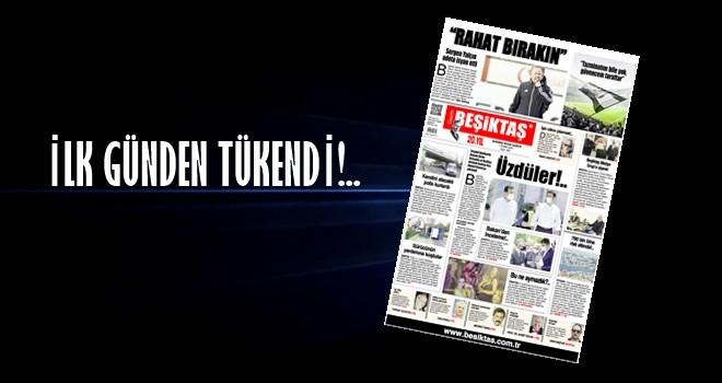 Gazete Beşiktaş yine bomba gibi haberlerle çıktı