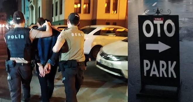 Beşiktaş'ta korsan otoparkçı operasyonu