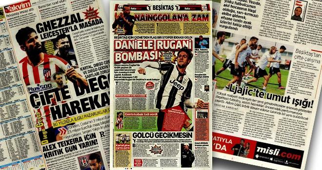 Günün Beşiktaş manşetleri (26 Temmuz)