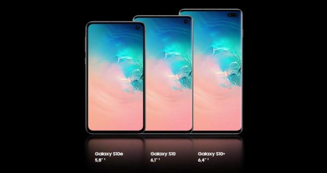 Ekran kalitesi bir numara Samsung Galaxy S10
