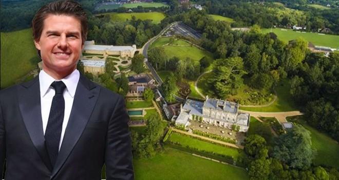 Tom Cruise lüks tarikat evinde karantinada