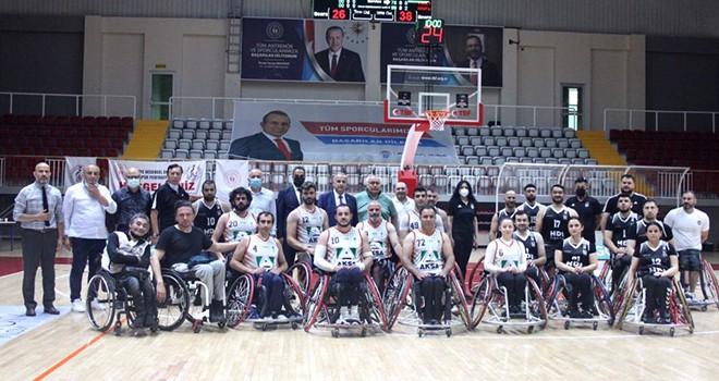 Beşiktaş Tekerlekli Sandalye Basketbol Takımı yarı finalde