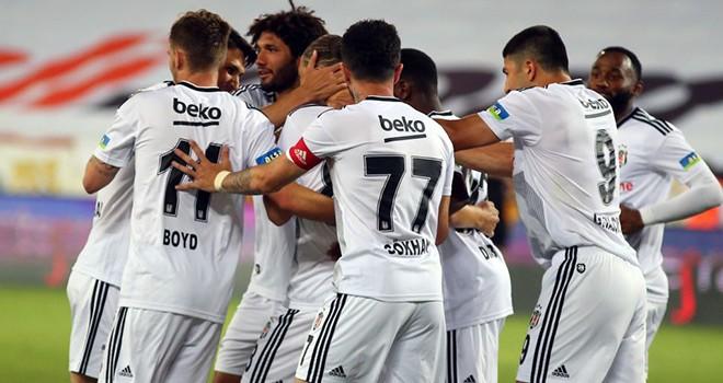Yeni Malatyaspor - Beşiktaş maç sonucu: 0-1