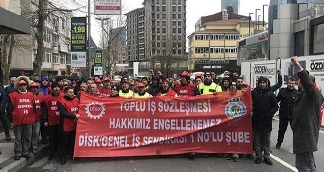 Beşiktaş Belediyesi'nde şimdi de işçi grevi ve protesto