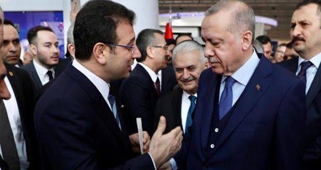 Erdoğan ile İmamoğlu bir araya geldi