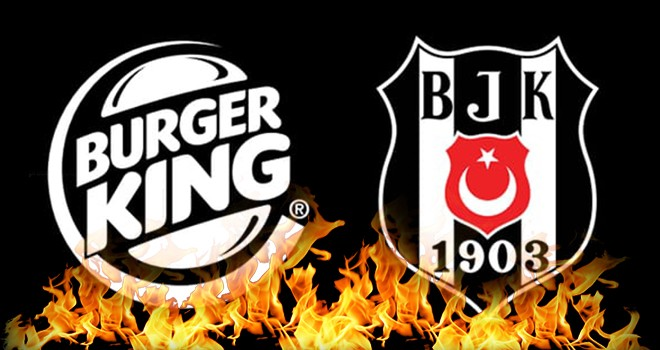 Beşiktaş ile Burger King'den dev iş birliği