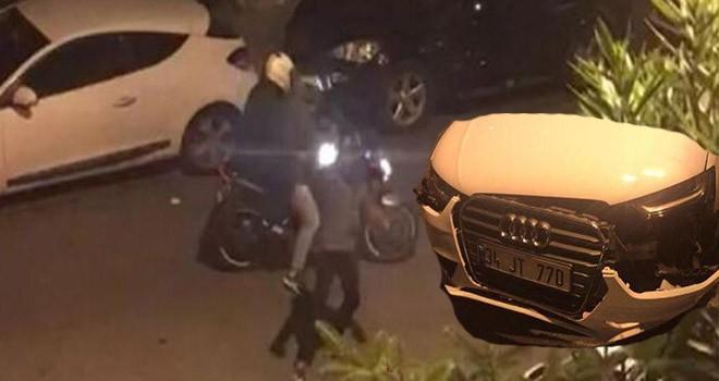 Hırsızlardan araç sahibine silahlı saldırı