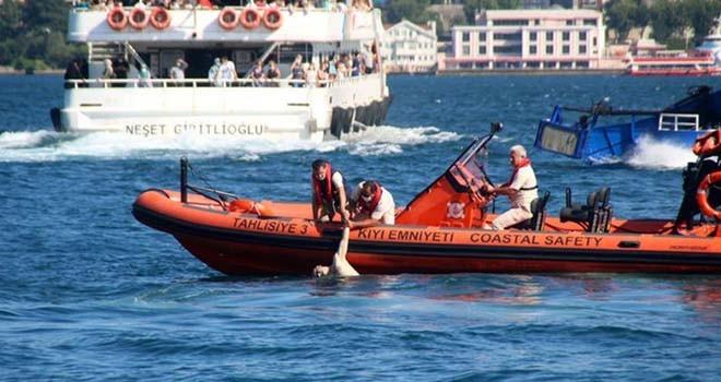 Boğaz'da yüzmek için denize giren kişi boğuldu