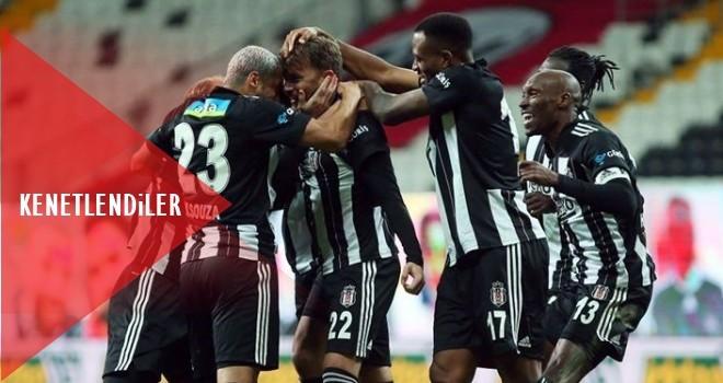 Beşiktaş'ta liderliğe devam